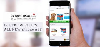 BUDGET PET CARE IS HERE WITH ITS ALL NEW iPhone APP