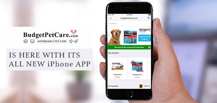 BudgetPetCare Iphone App