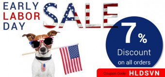 Early Labor Day Sale on Budgetpetcare- Top Pet Products At 7% Discount